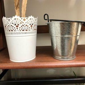 Planters, organizer, home decor